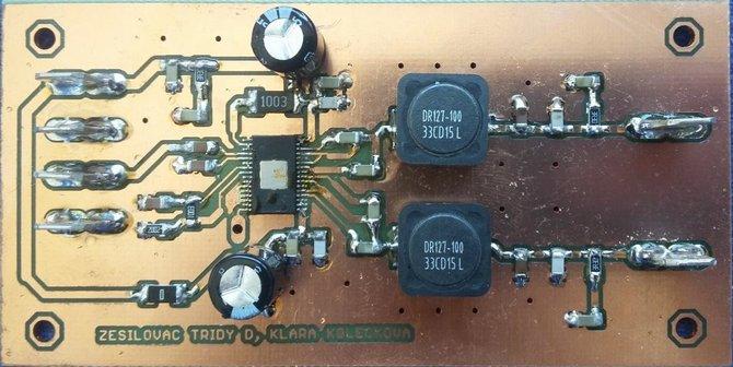 2.1 Class D Amplifier Circuit TPA3116D2  TPA3118D2 Subwoofer tpa3116d2 class d subwoofer amplifier circuit