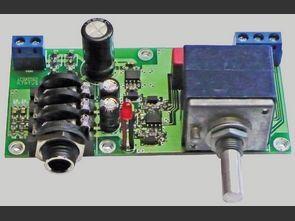 32Ω 100Ω Headphone Amplifier with AD8532
