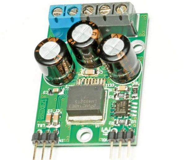 Tiny Power Amplifier With LM4952 amp circuit lm4952