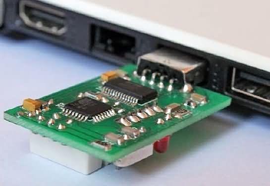 Thermometer Hygrometer Circuit USB DHT22 ATmega8 dht22 thermometer hygrometer microcontroller projects