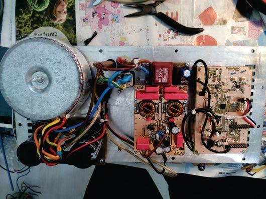 Active Studio Speakers Crossover Class D Amplifier Circuit digital signal procesor dsp 2 way active speaker system