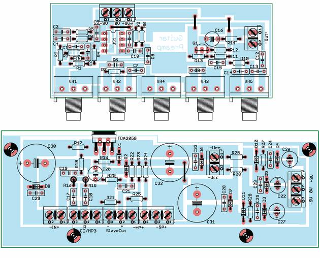 Electric Guitar Amplifier Diagram - Custom Wiring Diagram •