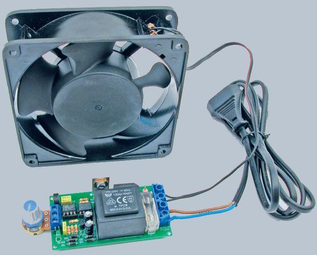 230V Fan Regulator Circuit Mosfet MC33152 ATtiny25 microcontroller 230v fan regulator stabilizer