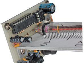 Nixie Tube Thermometer Circuit