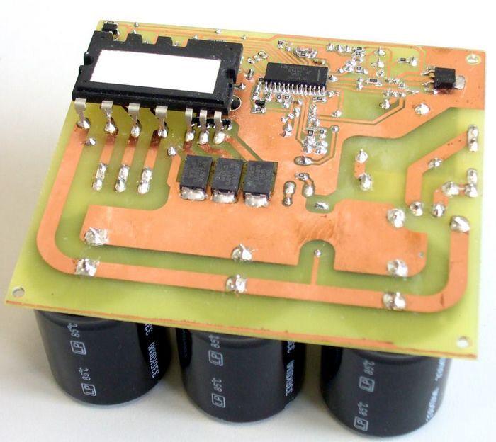 Three Phase Motor Control Circuit MC3PHAC FSBS10CH60 ...