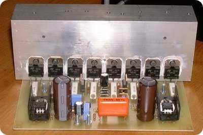 145W Balanced Darlington Transistor Amplifier TIP142 ...