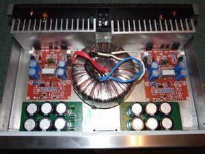 160W  IGBT Amplifier Circuit