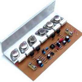 200W 300W 400W 500W Amplifier Circuit - Electronics Projects Circuits
