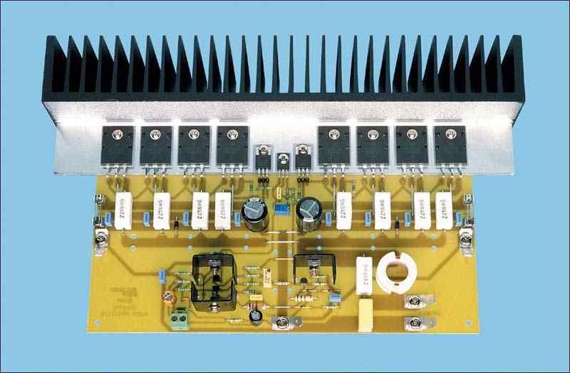 350 Watt Studio Amplifier Circuit MJL21193 MJL21194 - Electronics