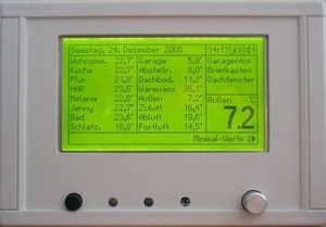 AVR Temperature Measurement System