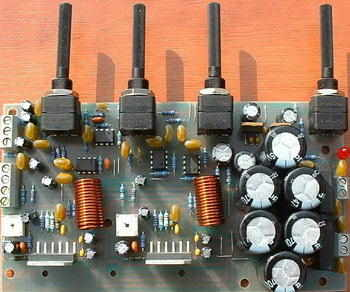 LM3886 Amplifier Project Tone Controlled