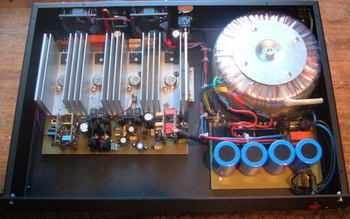 760w amplifier circuit