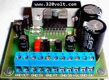 100 Watt Amplifier Circuit TDA7294 PCB - Electronics Projects Circuits