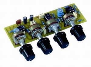 Tone control circuits tl074 lm833 lm1036 tda1524