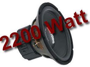 High Power 2200W Amplifier Circuit