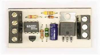 12V 10V Siren Circuit