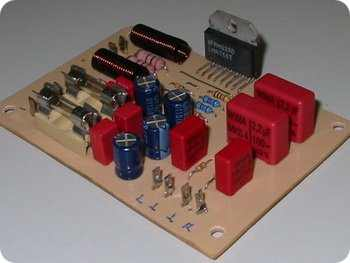 LM4766 Stereo 40w Amplifier Circuit