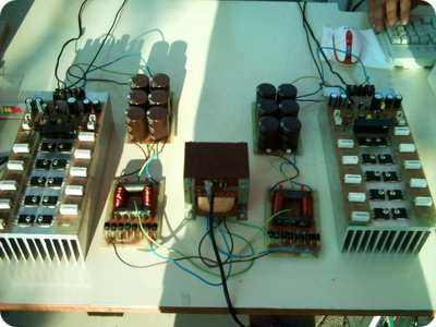 RMS 500W Amplifier Circuit