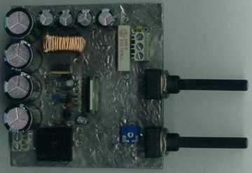 0-40V Adjustable Switching DC DC Power Supply Circuit L296