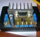 TDA7384 4×22 Watts Car Amplifier Circuit
