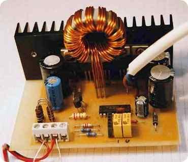dc to dc converter circuit tl494 12v to 30v adjustable