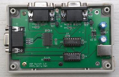 Dijital VGA Switch MAX465 Circuit