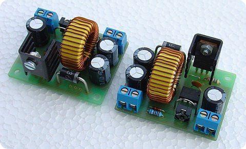 12V to 15V DC DC Converter Circuit MC34063