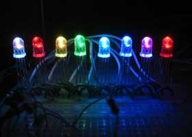 PIC16F628 RGB LED Control Circuit