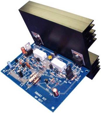 100W Darlington Transistor Amplifier Circuit with BDW83D BDW84D