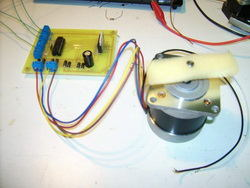 Stepper Motor driver circuit with L297 L298