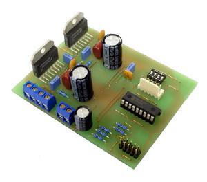 PIC16F628 Stepper motor control LMD18245