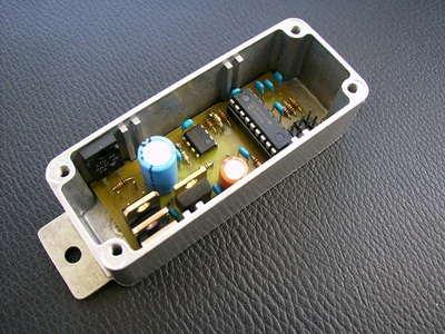 Electric Bike Motor Control Circuit TC4420 PWM  PIC16F819
