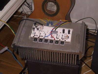 Aleph-30 Class-A Power Amplifier Circuit