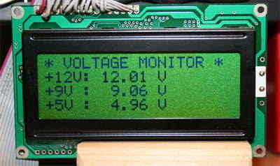 Multi-Voltage Meter with PIC18F2550 Picbasic PRO