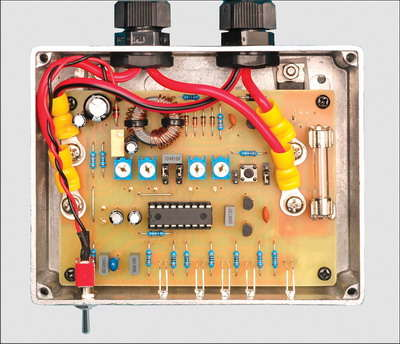 PIC16F88 12V SLA Battery Charger Circuit