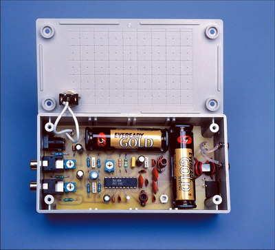 BA1404 Stereo 3V FM Transmitter Circuit