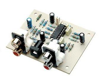 TL074 Bass Extender Circuit