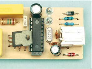Electronic Dimmer Circuit Remote with PIC16F628