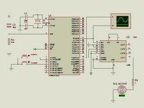 AT89C51 L293D Motor Control Project