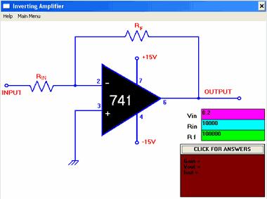 Op Amp  Designer inverting non-inverting calculation