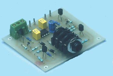 Quality Headphone Amplifier with TL072 Op Amp