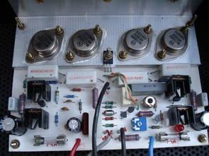 C200 Power Amplifier Circuit PCB Schematic