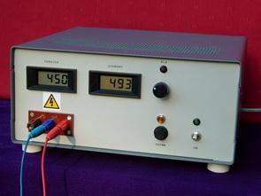 High Voltage Laboratory Power Supply Circuit 50V to 450V  500mA