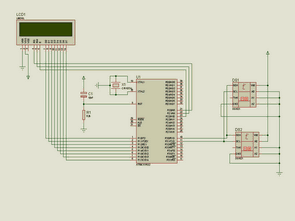 AT89C51 DS1621 Thermometer Circuit