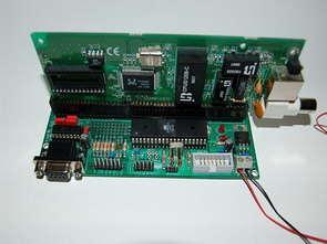 Embedded RTL8019AS Web Server Project ATMega103