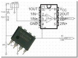 UGN3503 Hall Effect Sensor High Current Measurement