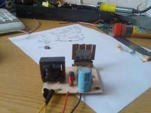 SG3525 12 Volt 220 Volt Inverter Circuit