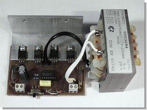 12V  to 230V DC AC Inverter Circuit