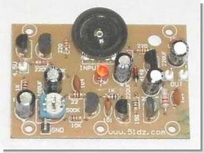 Simple OTL Amplifier Circiut