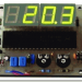 ICL7107 Thermometer Circuit  (transistor sensor)